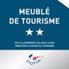 Meublé de tourisme 2 étoiles