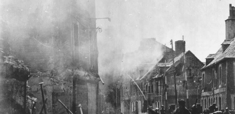 rue_destruction_liberation_dday_debarquement_carentan_juin_1944_normandie