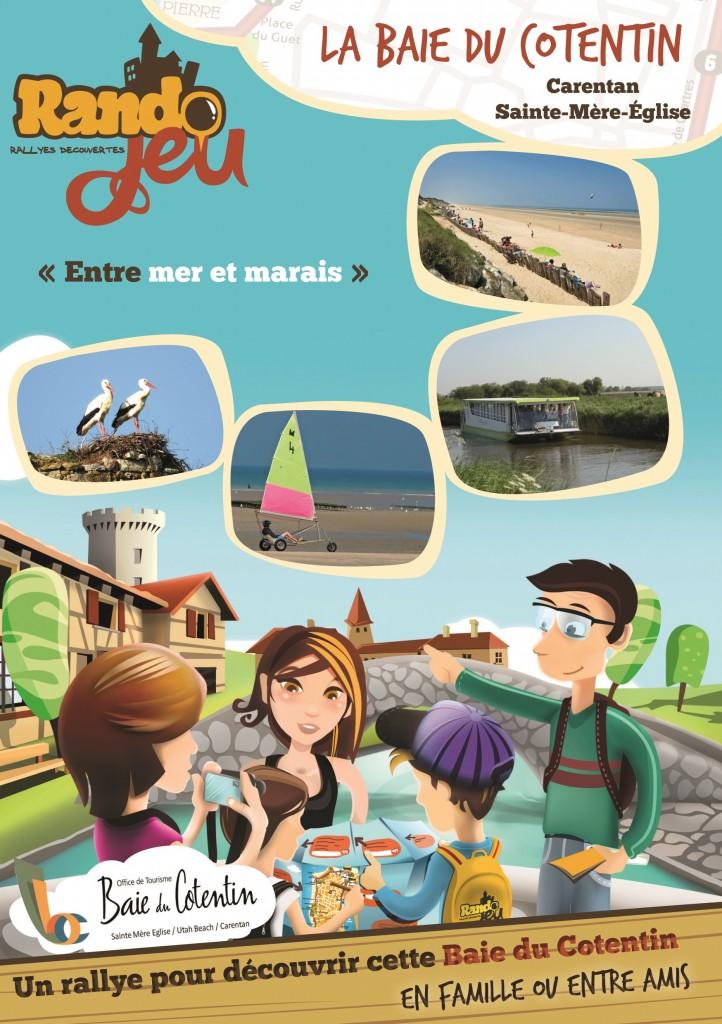 Rando jeu ot baie du cotentin sainte m re eglise et - Office du tourisme sainte mere eglise ...