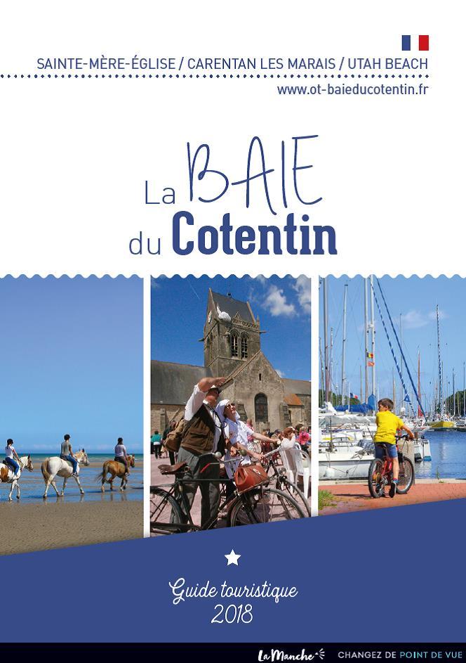 Couverture_GuideTouristique2018©OT Baie du Cotentin