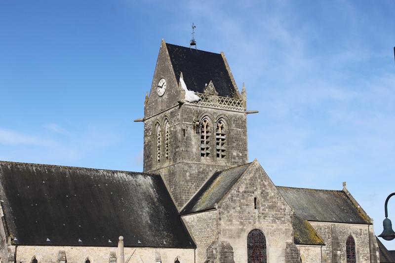 Sainte Mere Eglise  Ville Libre Par Les Parachutistes Amricains