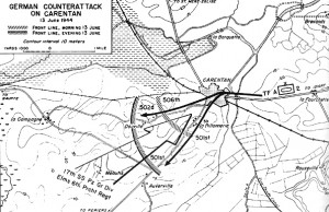 situation le 13 juin 1944