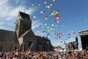 Cérémonie de la Paix Sainte Mère Eglise 7 juin 2014