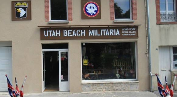 boutique_shop_militaria_surplus_militaire_utah_beach_normandie