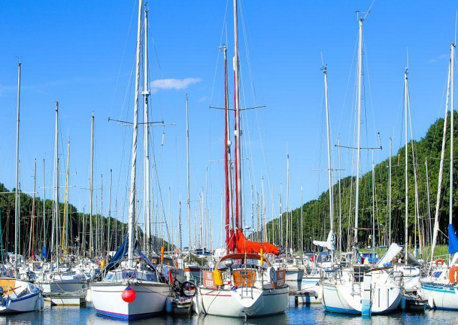 port plaisance bateau promenade balade vtt pied carentan baie cotentin