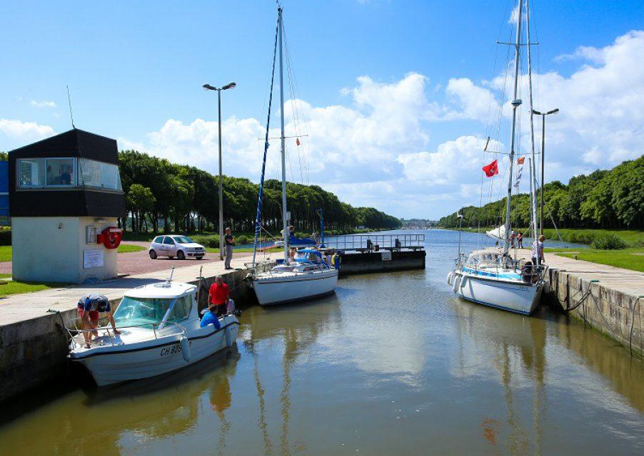 Portes éclusières_canal_port Carentan©C. Cauchard (37)