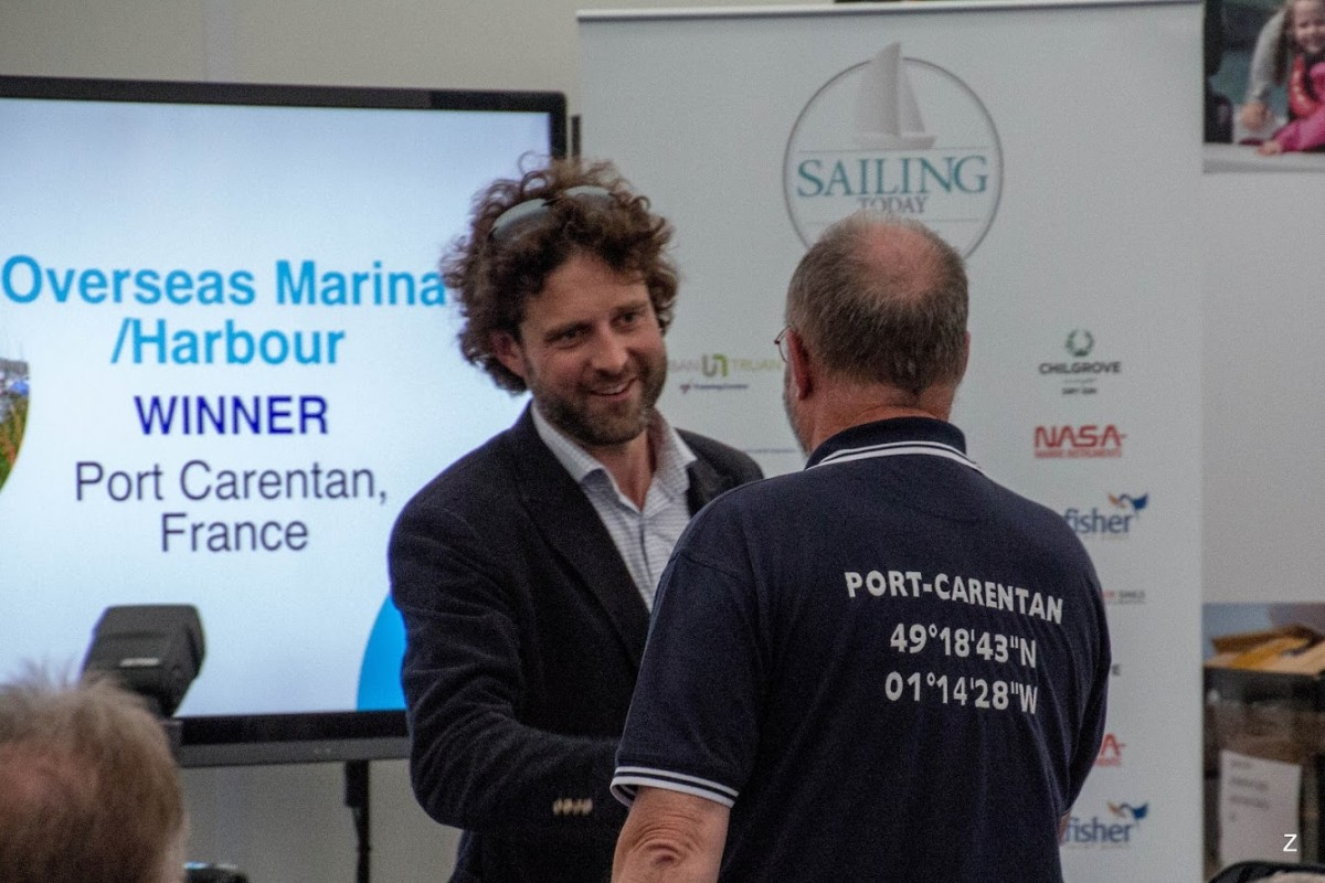 Sailing awards today