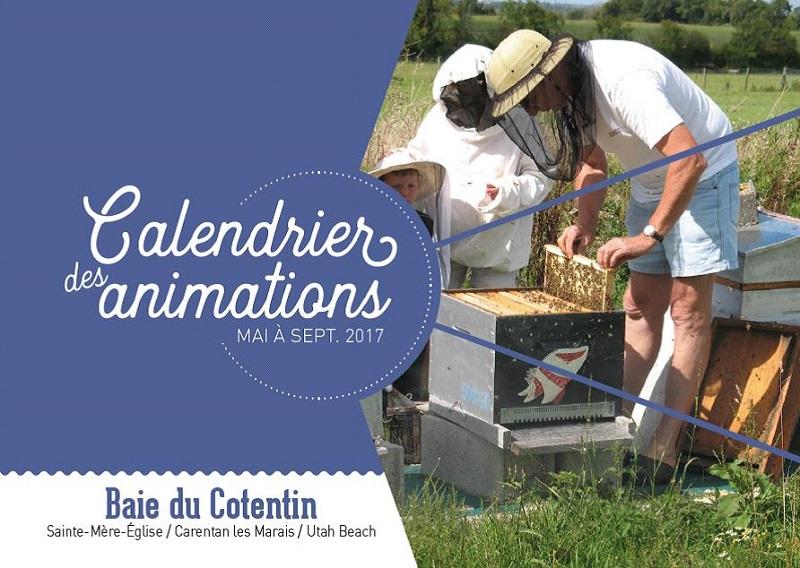 Calendrier des Animations Mai à Septembre 2017