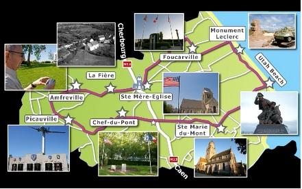 Circuits historiques ot baie du cotentin sainte m re - Office du tourisme sainte mere eglise ...