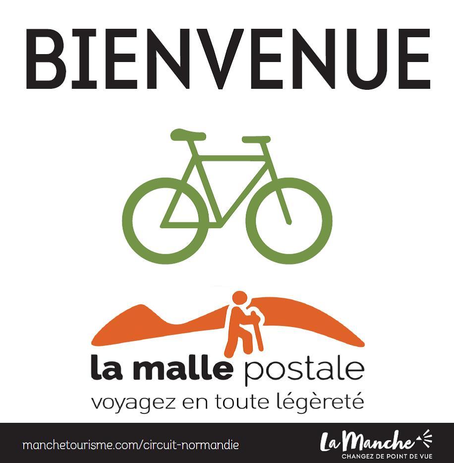 Logo MallePostale CYCLO_Manche©LatitudeManche