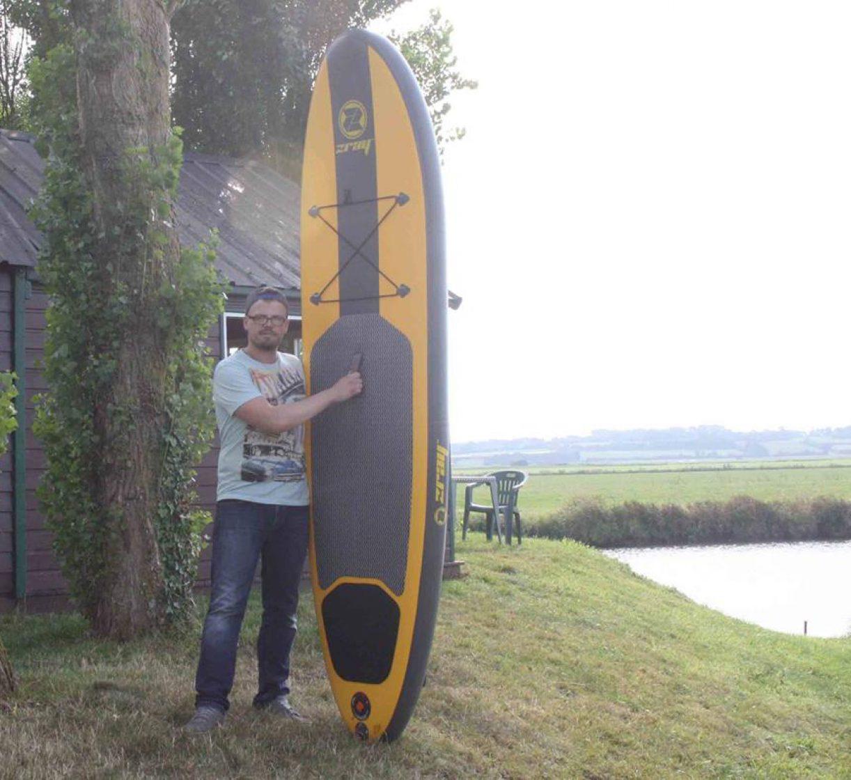 activite stand up paddle liesville douve marais baie cotentin