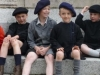 Carentan, les enfants en mode années 1940
