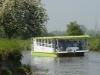Balade fluviale dans les marais, bateau