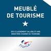 Meublé de tourisme 1 étoile
