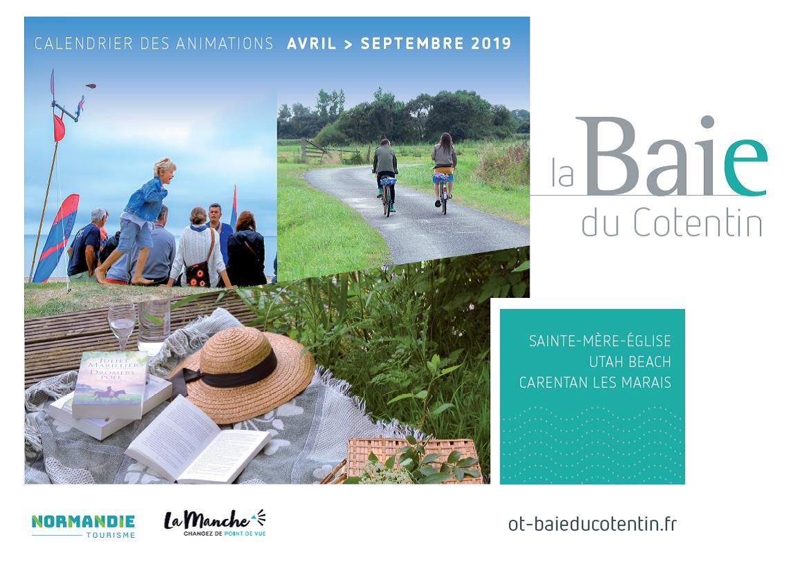 calendrier_animations_office_tourisme_baie_cotentin_avril_septembre_2019