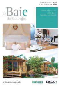 couverture_guide_hebergements_Office de tourisme_Baie du Cotentin_2019