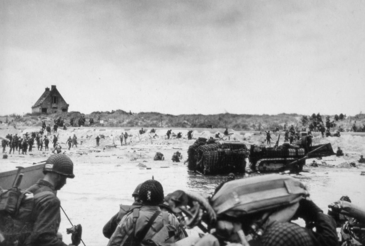 debarquement_6juin1944_Utah_beach_Normandy