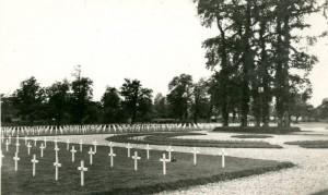 baie du cotentin Cimetières militaire provisoire soldat us americains 1944 sainte mere eglise