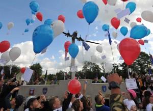 Cérémonie au Monument USAAF à Picauville - Juin 2014 - 70e Anniversaire du Débarquement - Jean-Marc Cresson
