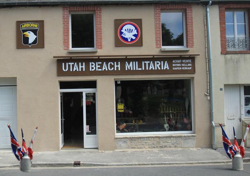 boutique_shop_militaria_surplus_militaire_utah_beach_normandie