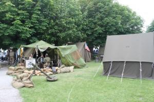 Camp militaire US Sainte Marie du Mont