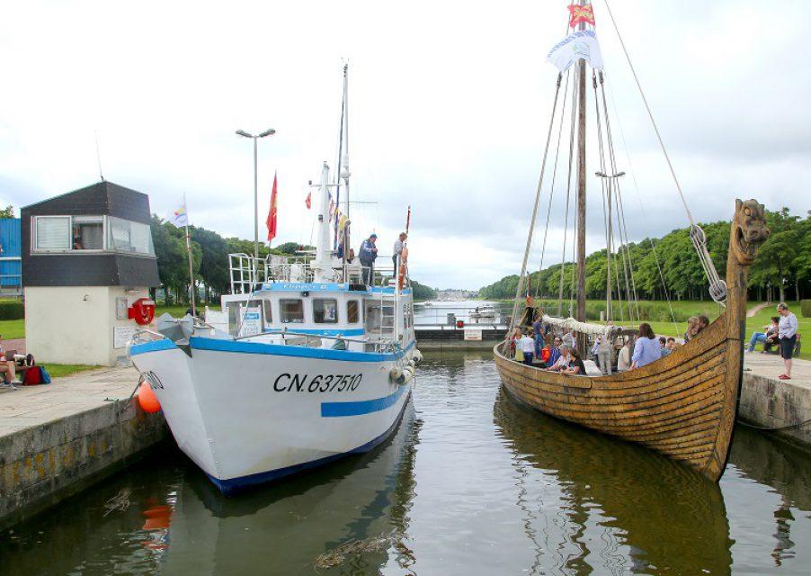 port plaisance bateau viking dreknor mer peche promenade carentan baie cotentin