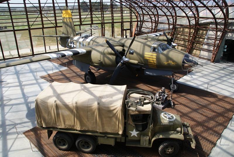 utah beach musee debarquement avion bombardier debarquement maritime mer juin 1944