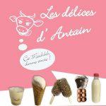 baie du cotentin produit terroir ferme lait delices antain glaces creme oeuf