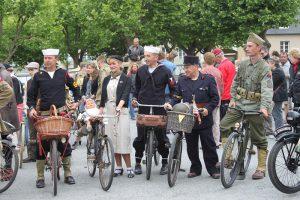 baie du cotentin balade velo epoque annees 40 anciens festivites dday normandie