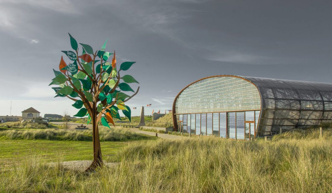 utah beach plage musee monument debarquement dday baie cotentin