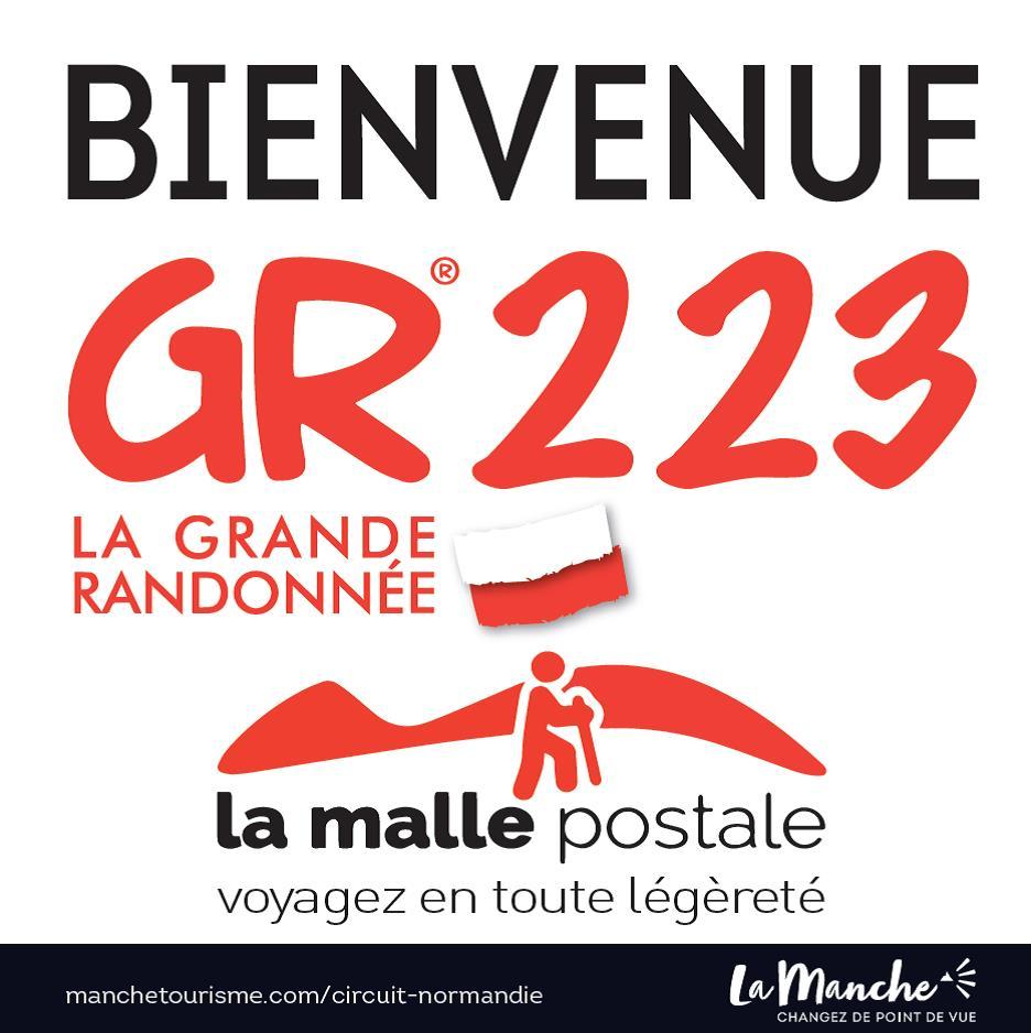 Logo MallePostale GR223_Manche©LatitudeManche