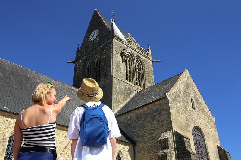 Eglise Sainte Mère Eglise©C. Cauchard (7)