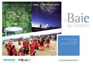 couverture_calendrier_animations_avril_septembre_2020©OT Baie du Cotentin