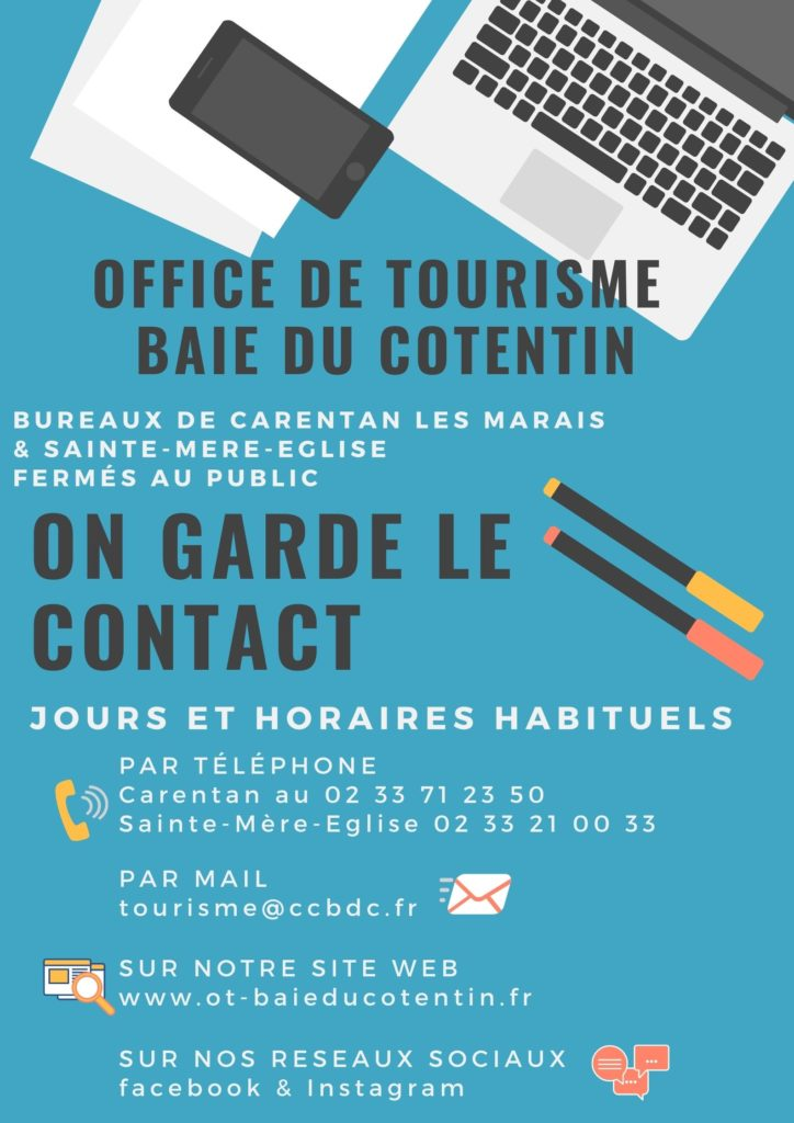 garder_contact_covid_office_tourisme_baie_cotentin_carentan_sainte_mere_eglise