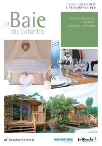 couv_guide_hebergements_restaurants_2021©OT Baie du Cotentin