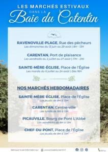 marchés estivaux de la baie du cotentin 2021